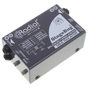 Radial SB-6 Isolator Compact Stereo