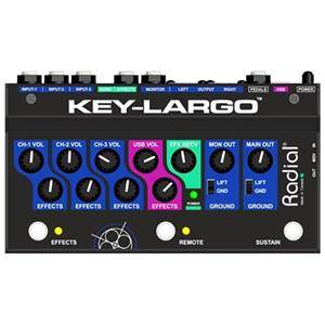 Radial Key Largo Keyboard Mixer DI Box