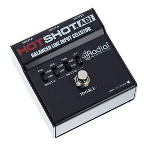 Radial Hotshot ABI Latching Footswitch