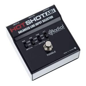 Radial Hotshot ABI Latching Footswitch
