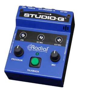 Radial StudioQ Talkback Interface
