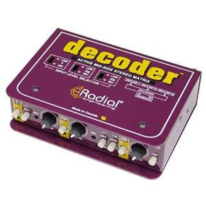 Radial Decoder Stereo Matrix