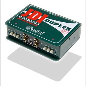 Radial JDI Duplex 2-Channel Passive Direct Box