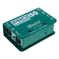 Radial Pro-Iso Stereo +4dB to -10dB Interface