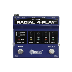Radial 4-Play Multi Output DI Box