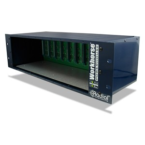 Radial Powerhouse 10-Slot 500 Series Power Rack