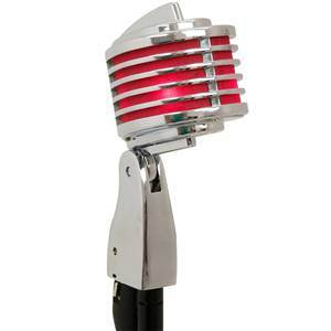 Heil The Fin Chrome/Red Stage Mic