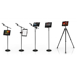 IK Multimedia iKlip3 Flexible iPad/Tablet Mic Stand Adaptor