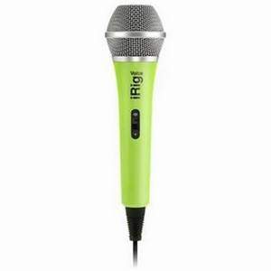 IK Multimedia iRig Voice Green iOS Android Handheld Mic