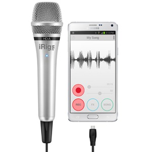 IK Multimedia iRig Mic HD-A Android Condenser