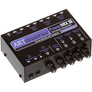 ART Powermix III 3 Channel Personal Stereo Mixer