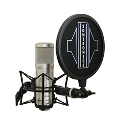Sontronics STC-3X Pack Silver three-pattern condenser mic with accessories