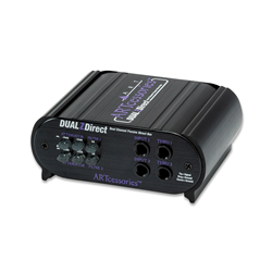 ART DUALZDirect Dual Passive DI Box