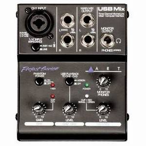 ART USBMIX Portable USB Mixer