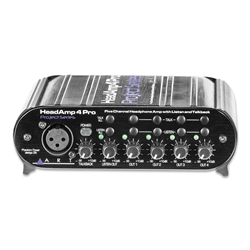 ART Headamp 4 Pro 5-Channel Headphone Amp With Talkback