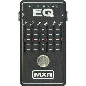 MXR 6 Band Graphic Eq