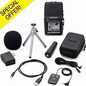 Zoom H2N & Accessory Pack Bundle