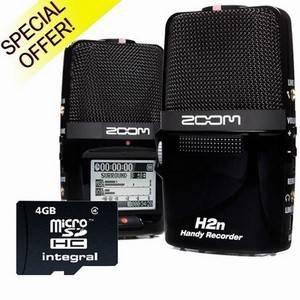Zoom H2N + 4GB SD Card