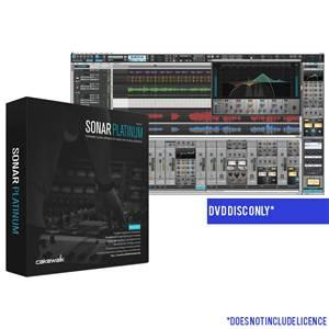Cakewalk Sonar Platinum DVD Only