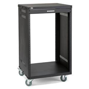 Samson SRK16 16U Wheeled Equipment Rack