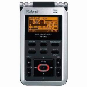 Roland R-05 Portable Recorder + Extra 8GB SD Card