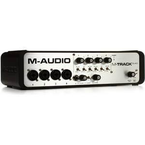 M-Audio M-Track Quad Audio/MIDI Interface