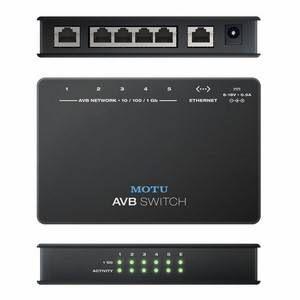 MOTU AVB Switch