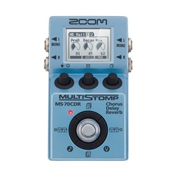 Zoom MS-70CDR MultiStomp Guitar Pedal