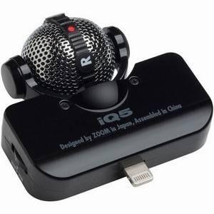 Zoom IQ5 Black iPhone Stereo Mic