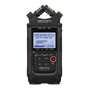 Zoom H4nPro Black Portable Recorder