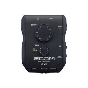 Zoom U-22 USB Audio Interface