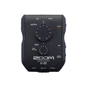 Zoom U-22 USB Audio Interface