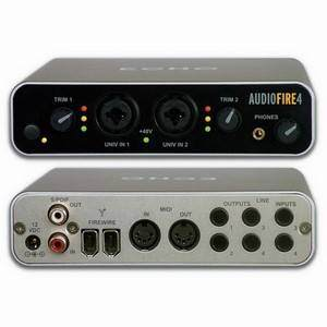 ECHO AUDIOFIRE 4 6in/6out F/W INTERFACE