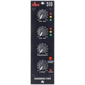 dbx 510 Subharmonic Synth 500 Series