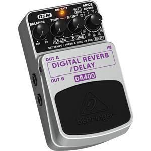 Behringer DR400 Digital Reverb / Delay Pedal