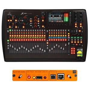 Behringer X32 + Cymatic uTrack X32 Card Bundle