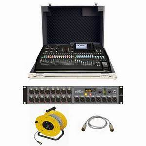 Behringer X32 + Trojan Mixer Case + S16 Bundle