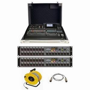 Behringer X32 + Trojan Mixer Case + 2xS16 Bundle