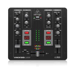 Behringer VMX100USB 2-Channel Pro USB DJ Mixer