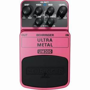 Behringer UM300 Ultra Metal Distortion Pedal