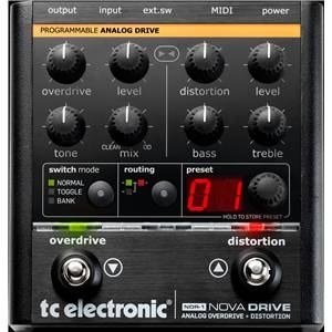 TC Electronic Nova Drive Distortion Pedal