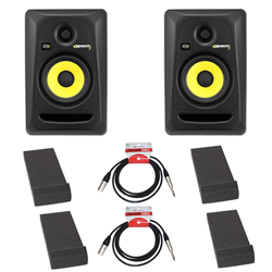 KRK Rokit RP5 Studio Monitors Isolation Bundle
