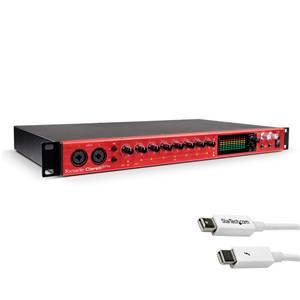 Focusrite Clarett 8Pre + 1m TB Cable White