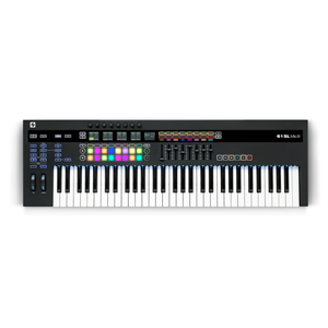 Novation 61SL MKIII CV-Equipped Controller Keyboard
