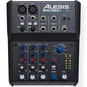 Alesis Multimix 4USB FX Mixer