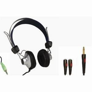Educational Headphones + Splitter 2-Pupil Pack