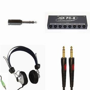 Educational Headphones + MTR Splitter 8-Pupil Pack