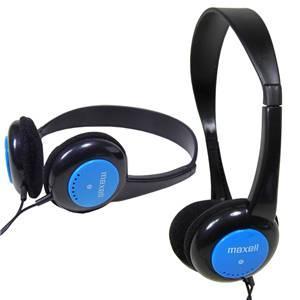 Maxell Kids Safe Blue Headphones