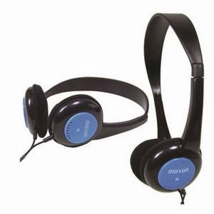 Maxell Kids Safe Blue x10 Headphones