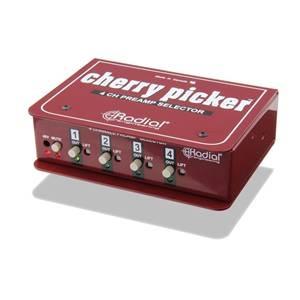 Radial Cherry Picker Mic Preamp Selector